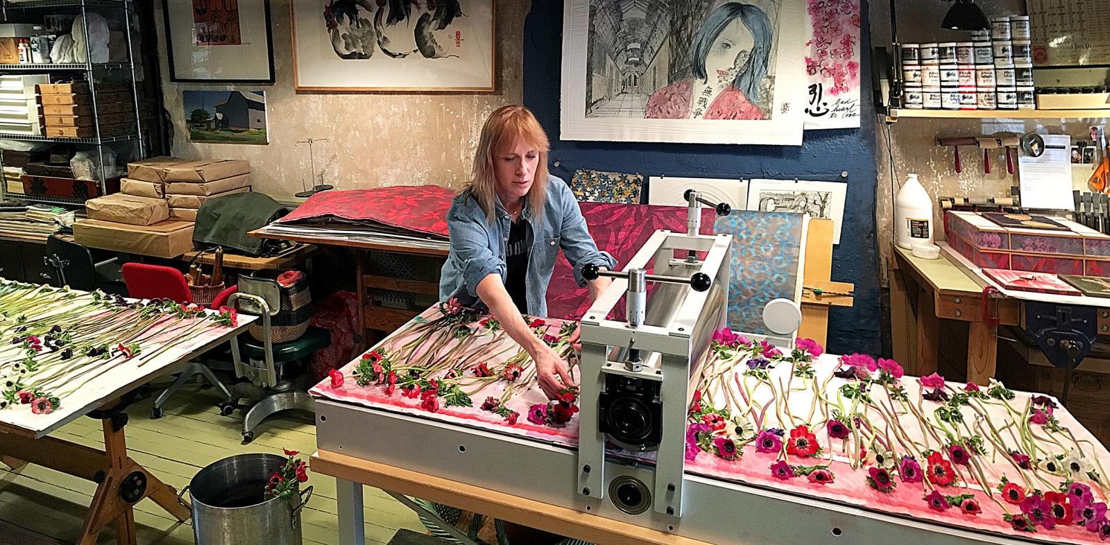 PD Packard artist and printmaker